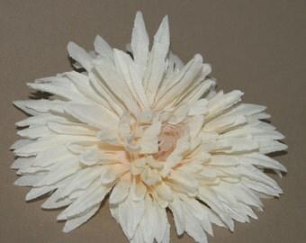 Ivory Mums - Artificial Flowers, Silk Flower Heads