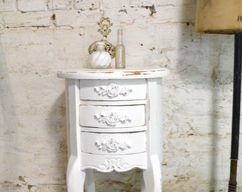 Painted Cottage French night table for your romantic home! NT827