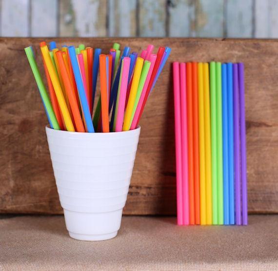 Bright Rainbow Lollipop Sticks, Small Rainbow Cake Pop Sticks, Lolly Sticks, Plastic Lollipop Sticks, Unicorn Lollipop Stick, Sucker Sticks