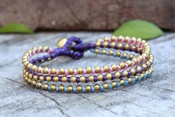 Sugar Stud Brass Bracelet