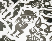 Boogie Beat stickers (set of 3)