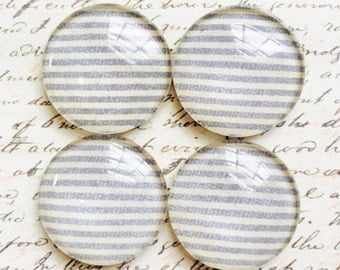 Glass Magnets - Magnets - Office Supplies - Decorative Magnets - Office Accessories - Glass Magnet - Office Decor - Fridge Magnets - Gray