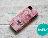 "iphone 5 tough case. 3D print. ""you are magic {girl}"". limited edition design by Revlie Schuit"