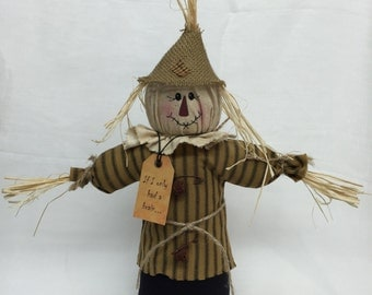 Scarecrow |Fall Table centerpiece | Handmade Scarecrow | Scarecrow doll | Fall Home Decor |