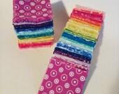 200 Rainbow mini charms