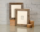 """8x10 Rustic Natural Reclaimed Cedar Picture Frame - Upcycled 8 x 10 Reclaimed Wood Photo Frame -8x10"""" Frames"""