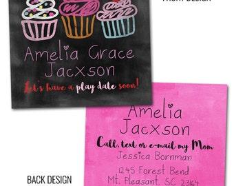 Cupcake Calling Cards