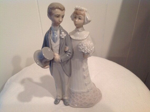 Lladro Bride And Groom Wedding Cake Topper Lladro Wedding
