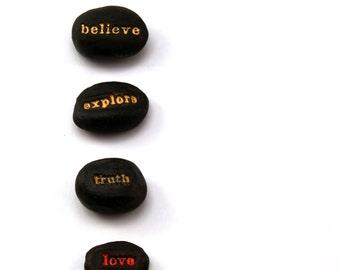 Meditation Stones - Word Stones