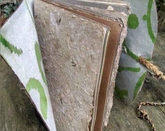 Large Leather Journal, Leather Journal, Large Journal, Handmade Paper