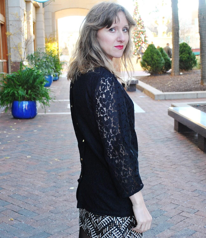 Black Lace Blouse Sale 20