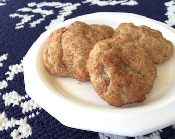 Vegan apple doodle Cookies, snickerdoodle cookies, vegan cookies, vegan baked goods, vegan treats, cookies, apple cookies, party favor
