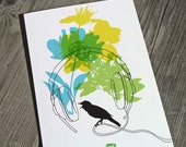 Carococo/Spring Break/ carte souhait 5x7 par Carol-Anne Pedneault