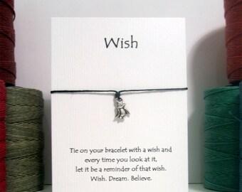 Tiny Penguin Wish Charm Bracelet