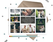 Eloped Announcement -- include 7 photos from your day!