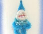 Blue, Blue, Blue Christmas Santa