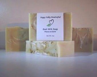 Peace On Earth Goat Milk Soap