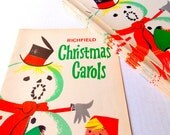 Vintage Christmas Carols Music Booklet / Christmas Hymnal / Children's Hymns