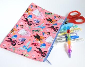 Steven Universe Pencil/Cosmetic Zipper Bag