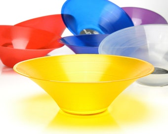 The Translucent Yellow GrooveBowl