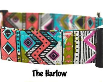 The Harlow - Multicolored Dog Collar