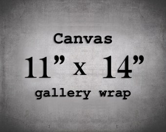 Canvas Wall Art, 11x14 Canvas, Gallery Wrap Canvas, 11x14 Wall Decor