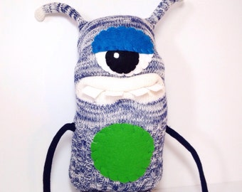 LEO - Handmade Monster, Sock Monster