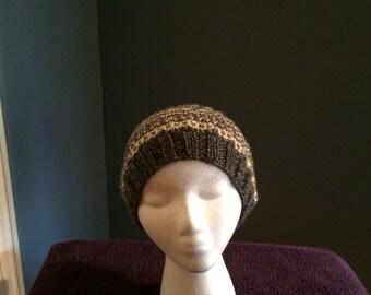 Fairisle Knitted Hat