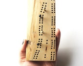 Small Travel Cribbage Board - Hand Held - 60 hole Two Track