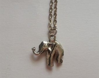Simple Elegant Elephant necklace