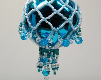 112. Beaded Ornament Cover