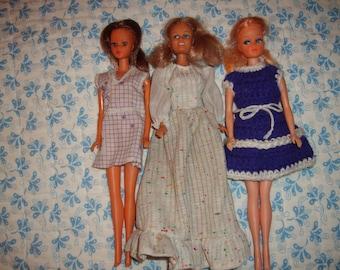 Vintage Barbie Clones-Lot of Three