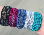 Beaded Waves Cuff Kit (cotton)