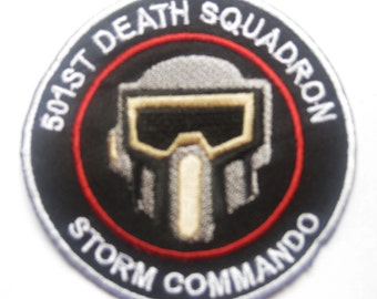 STAR WARS STORMTROOPER Storm commando shadow scouts Patch Badge