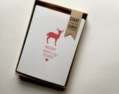 practical + petite holiday card set (merry everything)