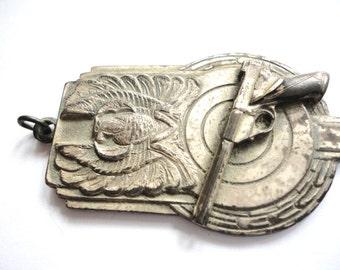 Vintage Gun Pendant