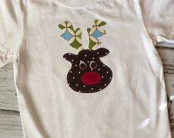 SALE- Boy's Reindeer Shirt Size 3T