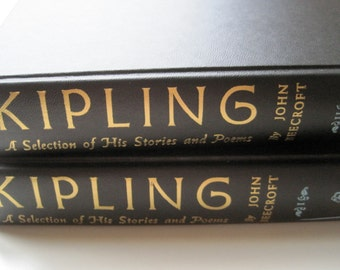 VINTAGE KIPLING a selection of his stories and poems 1956  set of two volumesVintage poetry