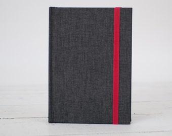 Heathered Wrap Book, Linen Artists Journal & Sketchbook