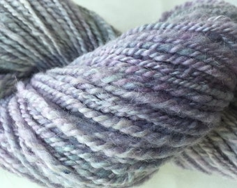 Hand Painted Super soft Wool and Angora blend