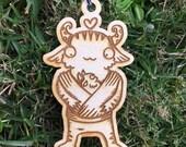 Little Monster Ornament - Baby Christmas Ornament - Babywearing Ornament - Babys First Christmas
