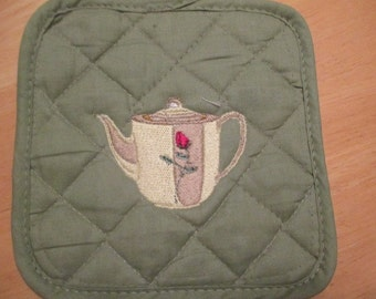 Teapot Pot Holders w/FREE Shipping