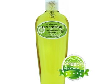 8 Oz Apple Seed Oil 100% Pure & Organic Cold Pressed