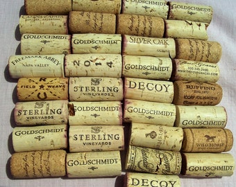 Wine Corks, Used Wine Corks, Recycled Wine Corks, Natural Wine Corks