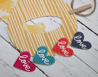 Hello Love - Letter Banner - Fabric Letter Garland - Nursery Decor - Baby Photo Prop