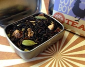 Sample tin: Coy Boy loose Chai tea blend