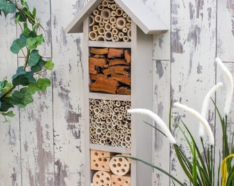 Four Tier Bee Hotel, in 'Muted Clay'.