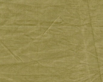 New Aged Muslins from Marcus Fabrics - Full or Half Yard Split Pea Distressed Parchment Look Blender - 7698-0116