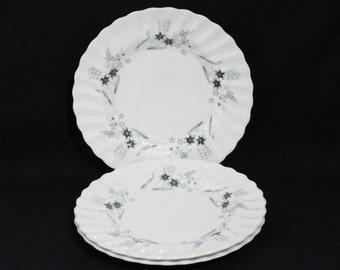 Royal Doulton MILLEFLEUR Bread Plates - Set of 3 - Item 188-1
