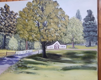 Country Oil Painting